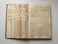 19x24x2 cm Libro intervenido
