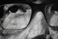 Carbón sobre papel 2012 220x150 cm
